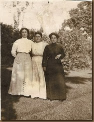 SistersFlorence, Myra,Ada Bowden-yr unknown_enhanced & fixed