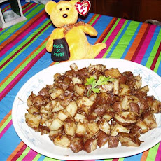 Savory Onion Potatoes