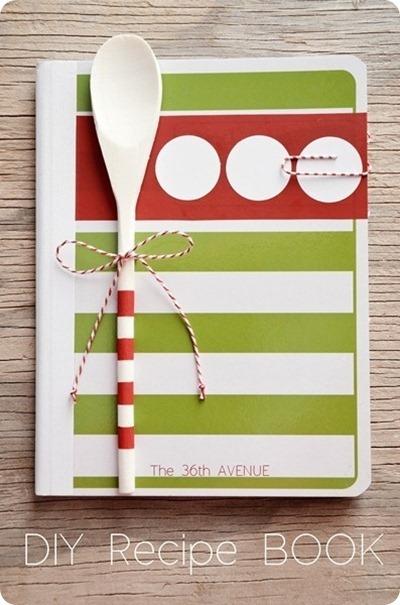 diy recipe book by 36th avenue