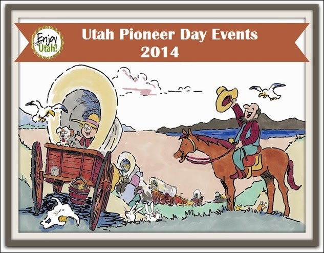 Utah Pioneer Day Events 2014