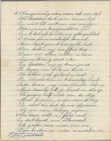 Gedicht 10 jarig bestaan 'Een in Streven' blz. 5