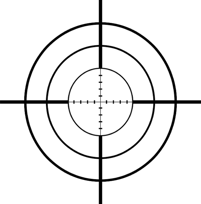 CC Photo Google Image Search.  Source is pixabay.com  Subject is crosshairs-sniper