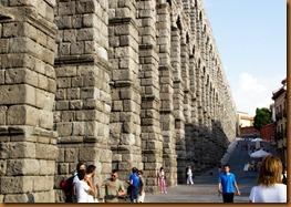 segovia, aqueduct