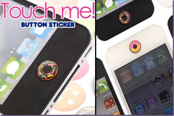 Adesivo-Botão-Iphone-Ipad-Ipod-Donuts