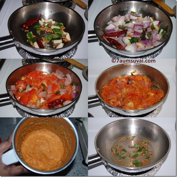 Tomato chutney process