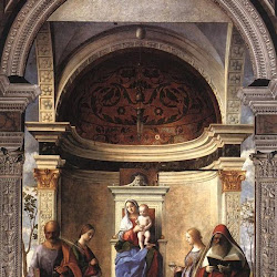 70 - Giovanni Bellini - Virgen de la Iglesia de San Zacarías de Venecia
