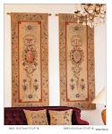 Stylowe arrasy naścienne w tradycyjne wzory.