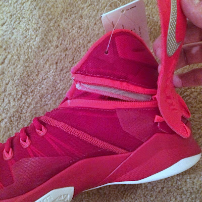 nike zoom soldier 8 ss red white 1 08 Detailed Look at Nike Zoom LeBron Soldier 8 Sample