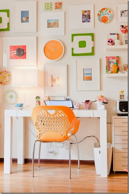 Home-Office-With-Bright-Orange-Accents-at-Awesome-Colorful-Home-Office-Design-Ideas-682x1024