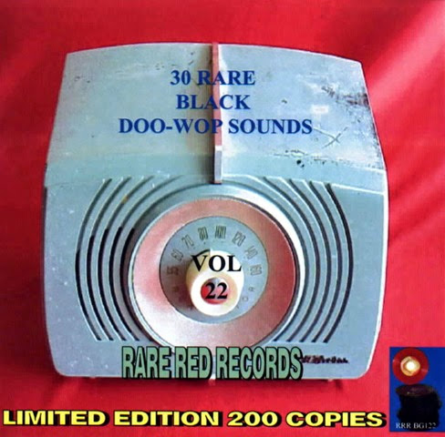 Rare Black Doo-Wop Sounds Vol. 22 - 31 - Front