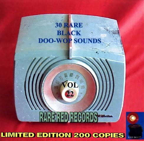 Rare Black Doo-Wop Sounds Vol. 22 - 31 - Front