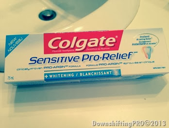 Colgate Sensitive Pro-Relief_DownshiftingPRO_Product Review_9
