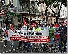 oclarinet. Marcha Contra o Desemprego 8. Out 2012