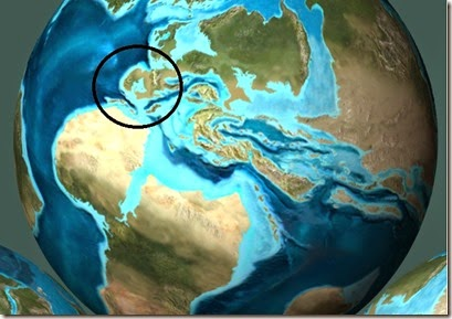 Paleogeográfico KT