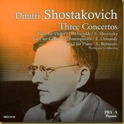 Shostakovich Concierto para violin 1 Oistrakh Mravinsky