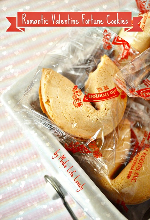 How to Put Your Own Message into a Fortune Cookie by Make Life Lovely