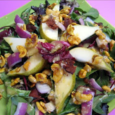 Spinach Pear Salad from Restaurateur, Tom Douglas