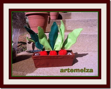 artemelza - vaso com rabanete