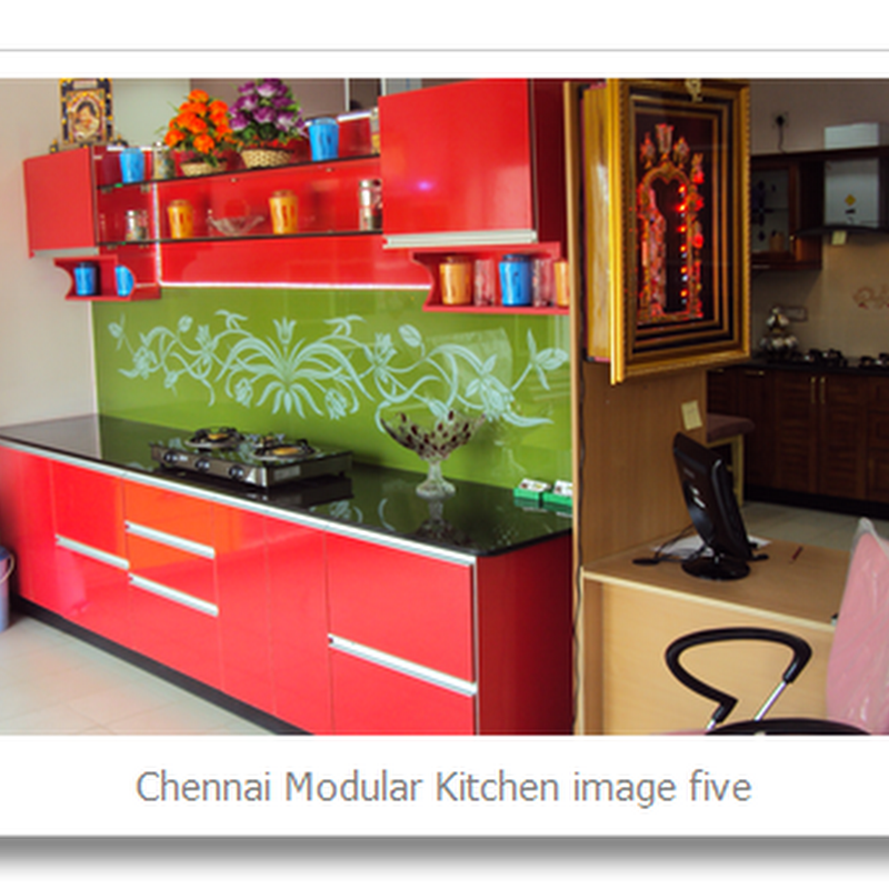 CHENNAI HOME DESIGNS: Chennai Modular Kitchen Image No Five