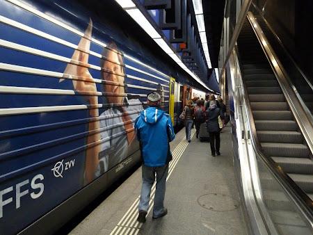 Gara aeroportului Zurich
