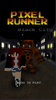 Screenshot of Pixel Runner - Black City Bear