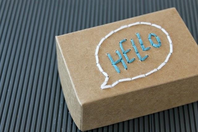 hello paper box