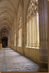 Segovia, cathedral cloister