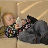 Slapper lige af i sofaen med Farfars I-phone...