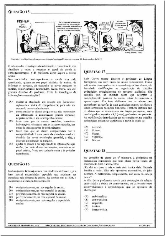 PROVA IADES IV 2012 2013
