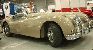 Jaguar XK 140 Roadster, silnik 3,4l., lata produkcji 1954 - 1957