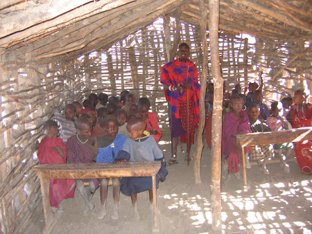Safari travel: Masai school