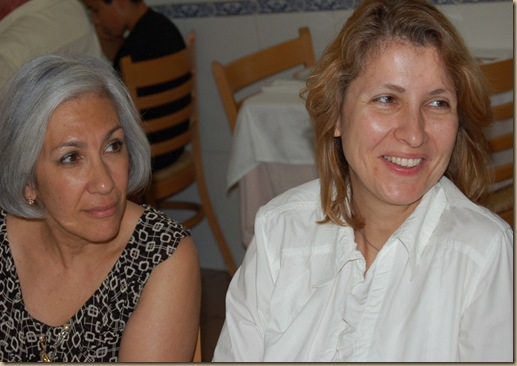 Dra Maria do Rosário_Subdiretora geral e Dra Paula Oliveira_Diretora de serviços