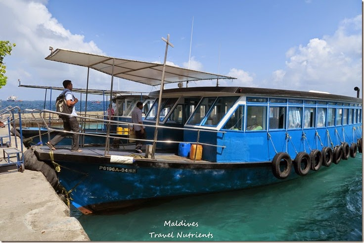馬爾地夫 交通渡輪計程車飛機公車 (14)