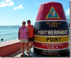 Syl and Gin in Key West