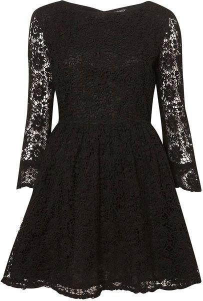Черное платье для подростков