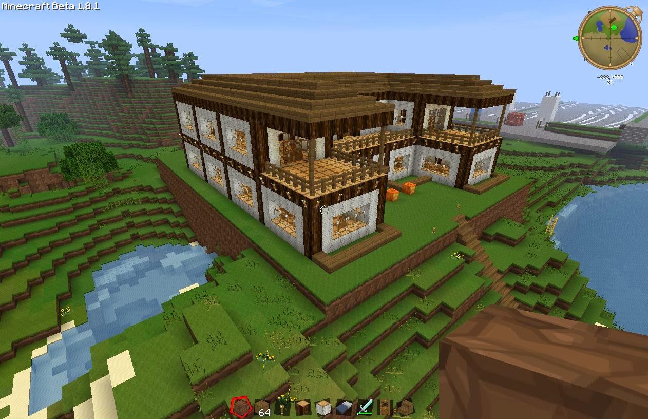 Wow balla casas minecraftdeiban for Como hacer una casa moderna y grande en minecraft 1 5 2