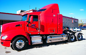 Green Bay, Wisc.-based Paper Transport, Inc. is testing the new spark-ignition, 11.9-liter dedicated natural gas engine from Cummins Westport, Inc. in this Kenworth T660 tractor, as well as in a Freightliner Cascadia.