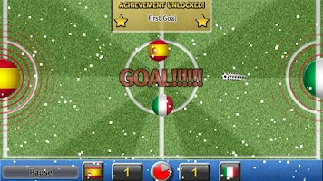 Screenshot of Gravity Football Euro 2012