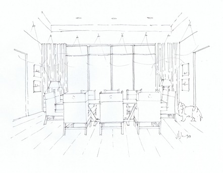 west coast dining room line dwg mmid_2011