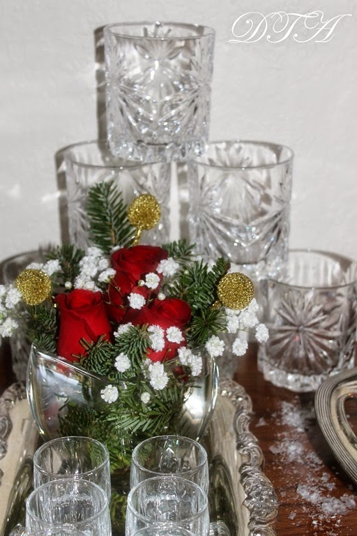 Decor To Adore~ Christmas Bar Cart 027