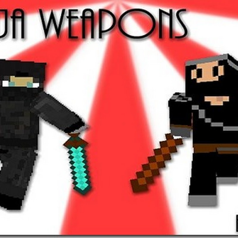 Minecraft 1.5.1 - Ninja Weapons mod