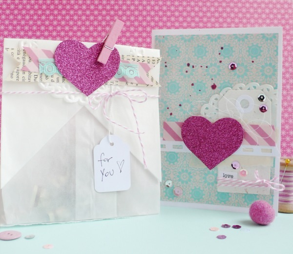 Anna Drai - bag - card heart - valentine (1)