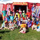 Cirkus Big, alle børnene fra campingpladsen