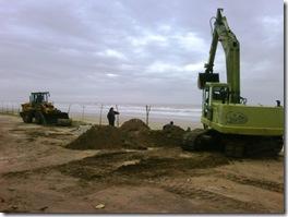 Se realizan trabajos en desagües pluviales de Mar del Tuyú