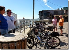 Biking in Cedar Key