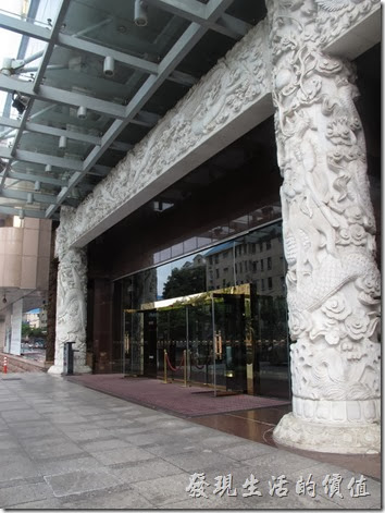 上海萬怡大酒店(COURTYARD)的外觀。