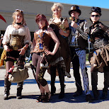 steampunk fashion is absolutely amazing in Toronto, Ontario, Canada