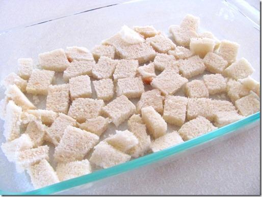 bread chunks
