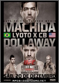 54969d5dd2c72 UFC Fight Night: Machida vs. Dollaway RMVB + MP4 HDTV