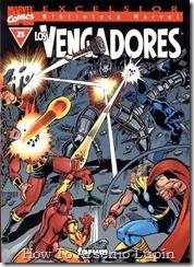P00025 - Biblioteca Marvel - Avengers #25